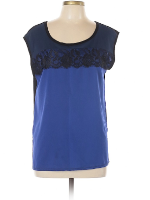 Mystree Navy Blue Blouse