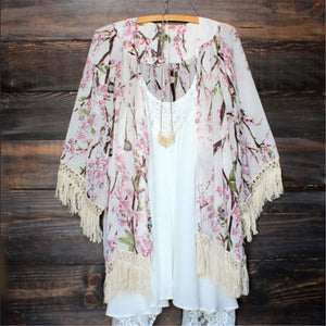 Best Of Both Worlds Floral Kimono
