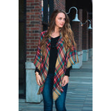 There Goes My Everything Classic Flannel Poncho