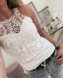 For The Frill Of It Lace Tank