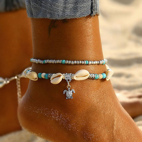 PREORDER - Sea Turtle Anklet