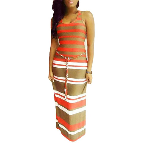 Bodycon Maxi Summer Dress