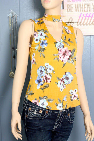 Think Of Me Floral Top
