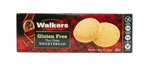 Walkers Gluten Free Shortbread Rounds 4.9oz  WLK1020