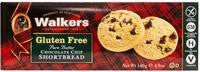 Walkers Gluten Free Shortbread Choc Chip4.9oz  WLK1021