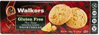 Walkers Gluten Free Shortbread Ginger & Lemon 4.9oz  WLK1022
