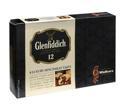 Walkers Shortbread Mincemeat Pies w/Glenfiddich (6) no.379