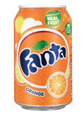 Fanta Orange Soda Can 330ml