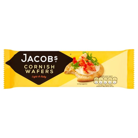 Jacobs Cornish Wafers 150g