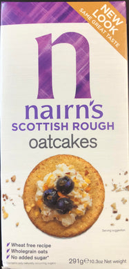 Nairn's Scottish Rough Oatcakes 291g