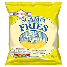 Smiths Scampi Fries 27g x 6