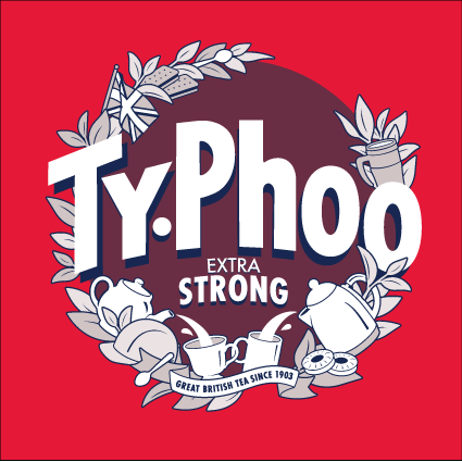 Typhoo Extra Strong Teabags 80ct