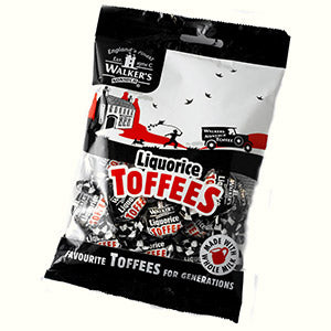 Walkers Nonsuch Liquorice Toffee Bag 150g