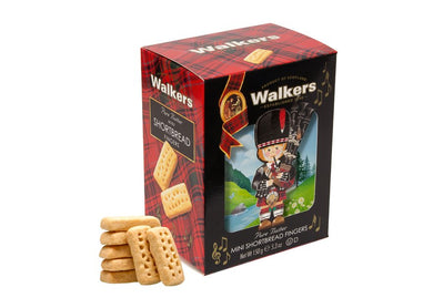 Walkers Mini Shortbread Fingers Piper 3D carton 3.5oz  # 1575