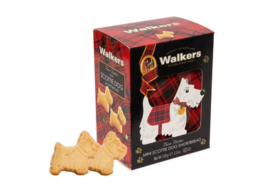 Walkers Mini Shortbread Scottish Dog 3D Carton 5.3oz #1574