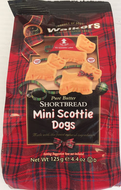 Walkers Shortbread Mini Scottie Dog Bag 4.4oz # 1916