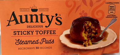 Jolly Grub | Aunty's Sticky Toffee Sponge Pudding 2pk (2x100)