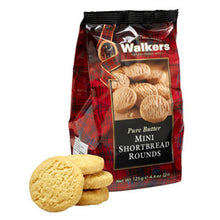 Walkers Mini Shortbread Rounds Bag 4.4oz  no.1767