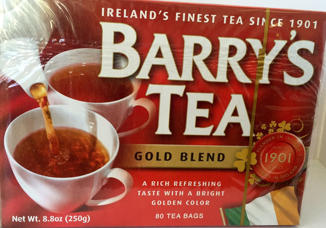 Jolly Grub | Barry's Gold Blend 80ct teabags