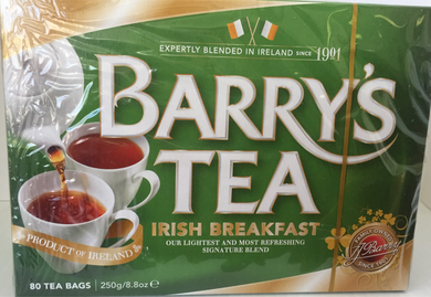 Jolly Grub | Barry's Irish Breakfast Tea 80's (Green Box) dated 6/17