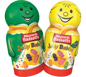 Bassett's Jelly Babies Jar 495g - Christmas