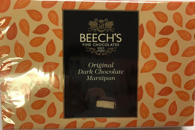 Beech's Dark Chocolate Marzipan 150g - Christmas