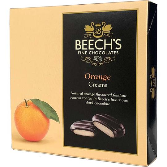 Beech's Dark Chocolate Orange Creams 90g - Christmas