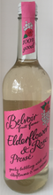 Belvoir Elderflower and Rose  Presse 75cl