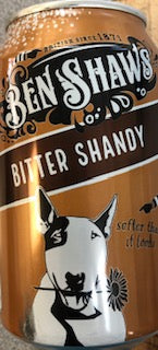 Ben Shaws Bitter Shandy Can 330ml