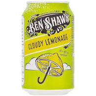 Ben Shaws Cloudy Lemonade Can 330ml