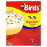 Birds Trifle Strawberry Mix 145g