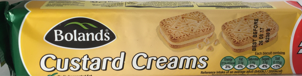 Bolands Custard Creams 150g