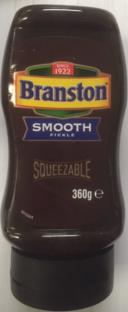 Branston Pickle Smooth Squeezable 360g