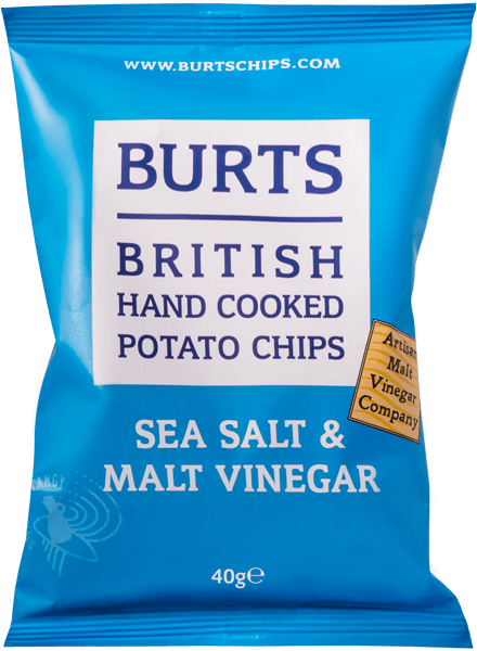 Burts Mature Sea Salt & Vinegar 150g (5.3 oz)