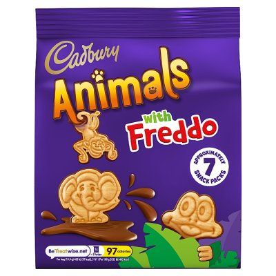Cadbury Animals Freddo 7 snack packs