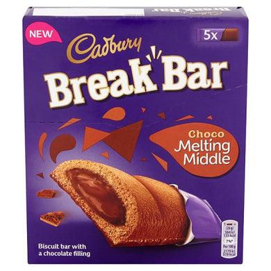 Cadbury Break Bar Milk Chocolate 5 pack