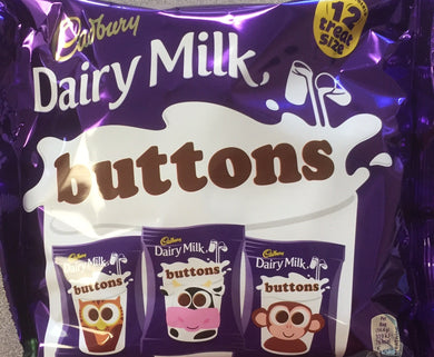 Cadbury Buttons Treat Size Bag 170g