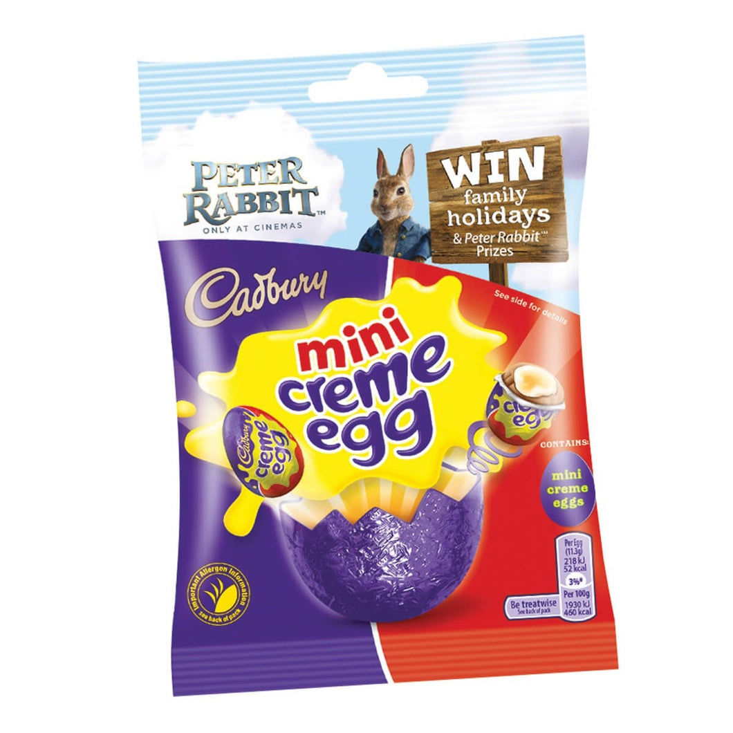 Cadbury Creme Egg Minis Bag 89g -Easter - FRAGILE