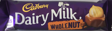 Cadbury Dairy Milk Whole Nut Bar Standard 45g