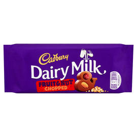 Cadbury Dairy Milk Chopped Fruit Nut Bar 95g