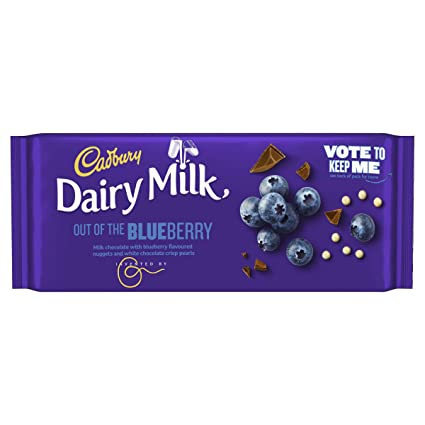 Cadbury Dairy Milk Inventor Blueberry Bar 105g