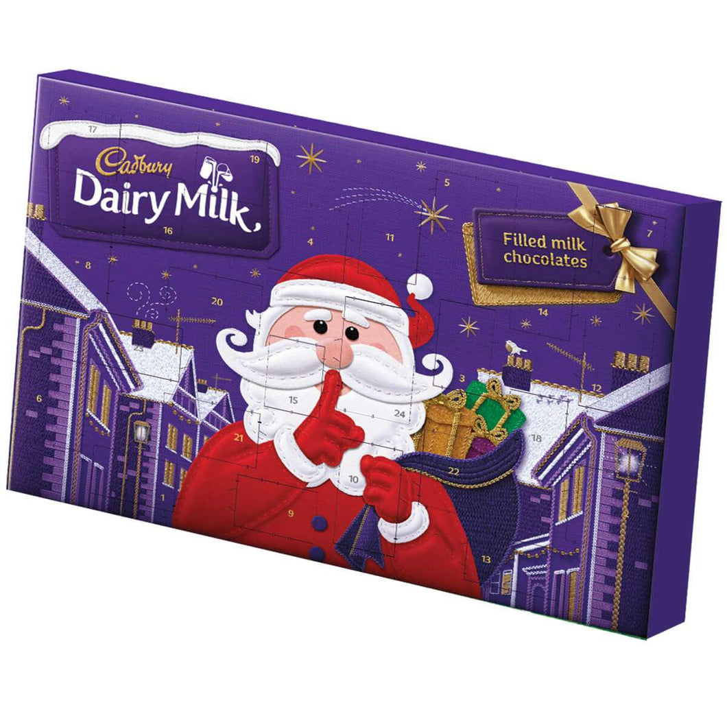 Cadbury Dairy Milk Secret Santa Large Advent 200g - CHRISTMAS