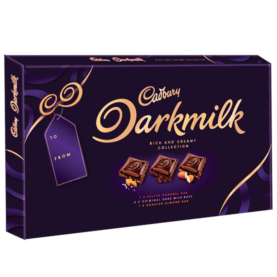 Cadbury Dark Milk Selection Box 340g - CHRISTMAS