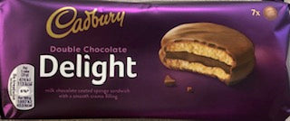Cadbury Double Chocolate Delight Biscuits