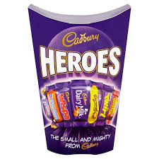 Cadbury Heroes Milk Chocolates Carton 290g