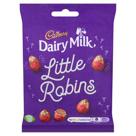 Cadbury Dairy Milk Robins Bag 93g - Christmas