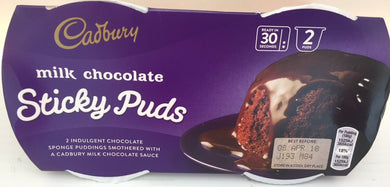Cadbury Chocolate Sponge Pudding - 2 pack