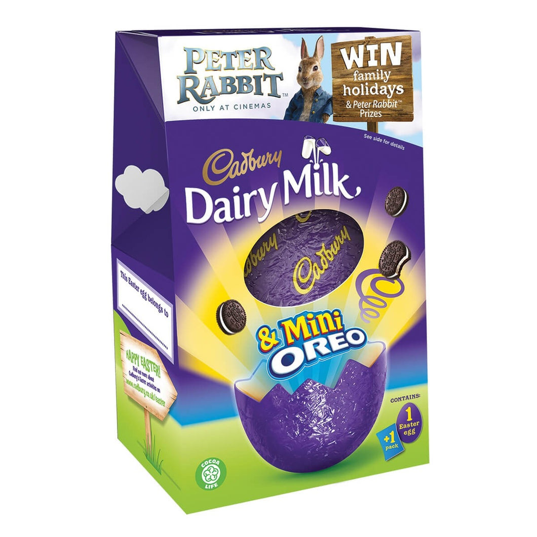 Cadbury Mini Oreo Medium Easter Egg - FRAGILE