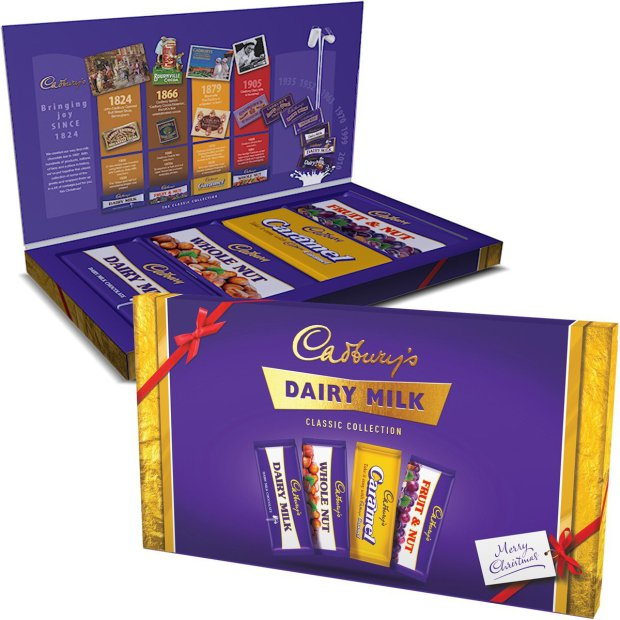 Cadbury Classic Collection Dairy Milk Selection Box 460g - Christmas