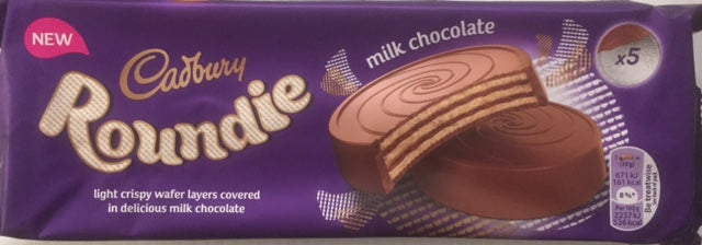 Cadbury Milk Chocolate Biscuit Roundie 150g